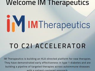 Welcome IM Therapeutics to the C2I Family!