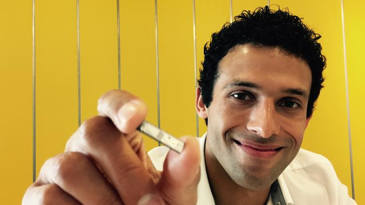 Armon Sharei is CEO and co-founder of Boston startupo, SQZ Biotech