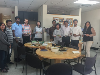 Ethnic Potluck Lunch at C2I