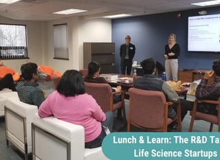 Lunch & Learn: The R&D Tax Credit for Life Science Startups
