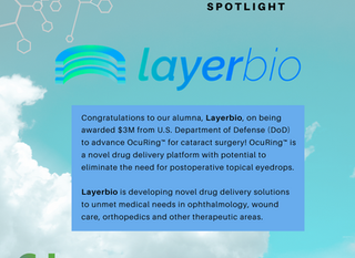 LayerBio Awarded $3M from U.S. Department of Defense (DoD) to Advance OcuRing™ for Cataract Surgery