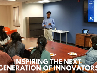 Students from Hopkinton Middle School visit C2I Accelerator