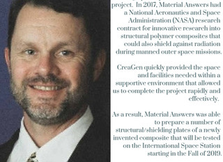 Chris Scott, CEO & President of Material Answers LLC talks his experience with CreaGen