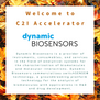 Welcome to C2I Accelerator, Dynamic Biosensors!