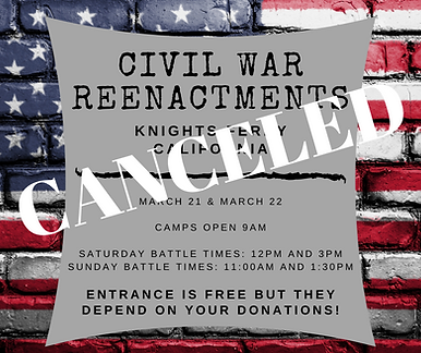 Cilvil War Reenactments are coming to Kn