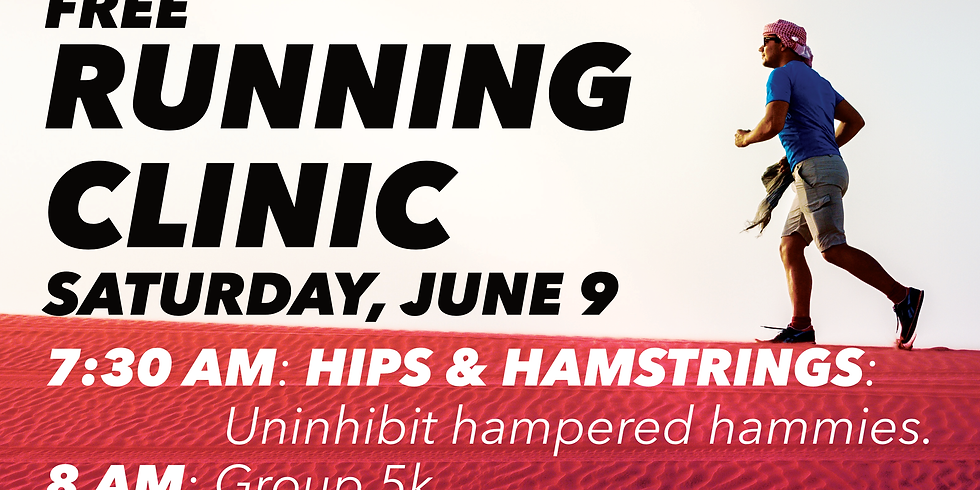 Running Clinic: Hips & Hamstrings