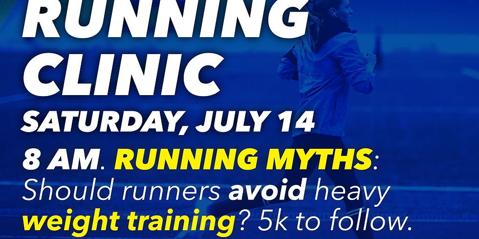 Running Myths: Weight Training for Runners?