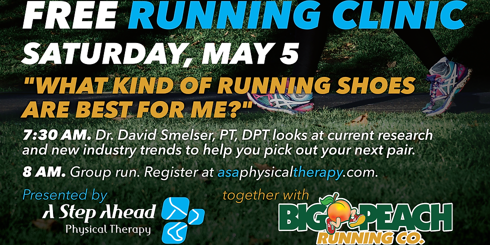 Running Clinic: Footwear Fact and Fiction