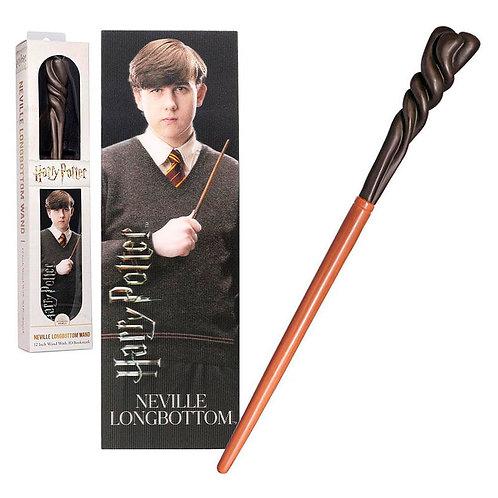Harry Potter Neville Longbottom wand with bookmark