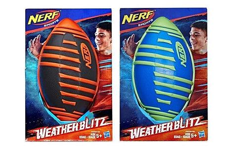 Wholesale-Hasbro Nerf Sports Weather Blitz Footballs Asst