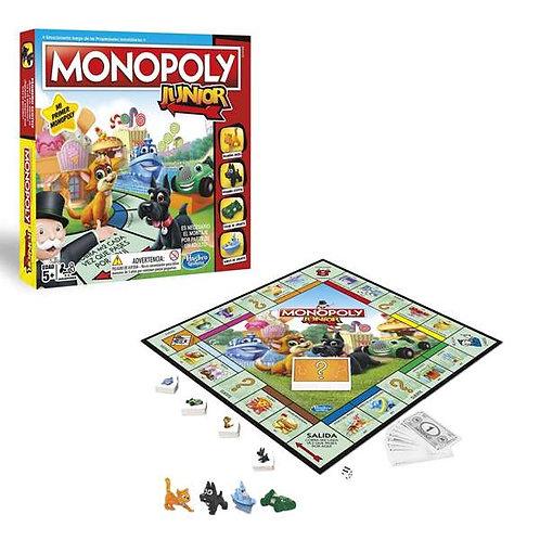 Board game Monopoly Junior Hasbro (ES).