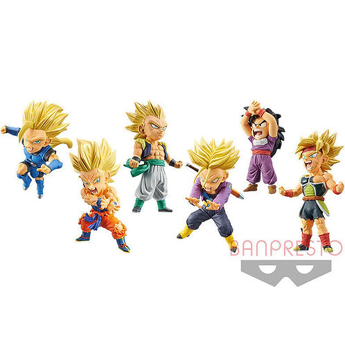 Wholesale-Dragon Ball Legends Collab World Collectable assorted figure 7cm