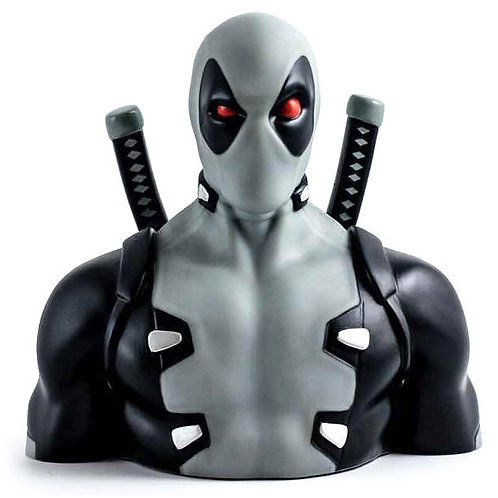 Marvel Deadpool X Force money box bust 20cm