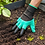 Thumbnail: 1 Pair Safety Gloves Garden Gloves