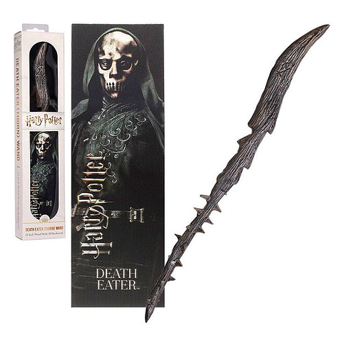 Harry Potter Death Eaters wand with bookmark