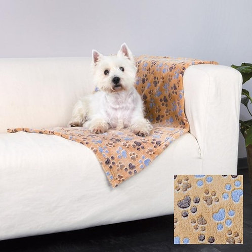 Trixie Laslo Fleece Blanket 75 x 50 cm Beige