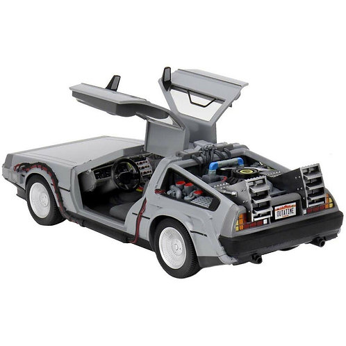 Back to the Future Diecast Time Machin vehicle 15cm