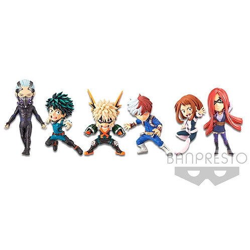 Wholesale-My Hero Academia The Movie Rising Assorted World Collectible figure 7c