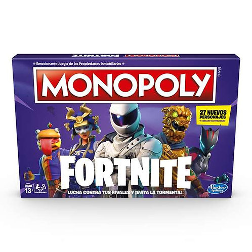 Board game Monopoly Fortnite Hasbro (ES).