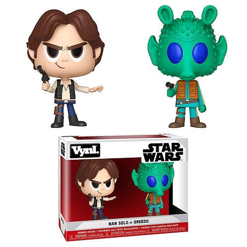 VYNL: Star Wars - Han Solo & # 38;пѕGreedo