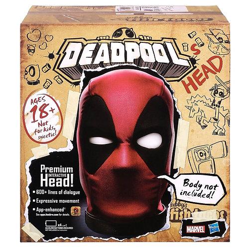 Marvel Legends English Interactive Electronic Deadpool's Head