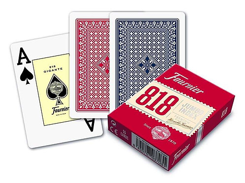 Pack of Poker Playing Cards (55 cards) Fournier Nº 818.