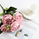 Thumbnail: 1 Bundle Silk Peony Bouquet Home Decoration Accessories Artificial Roses Flowers