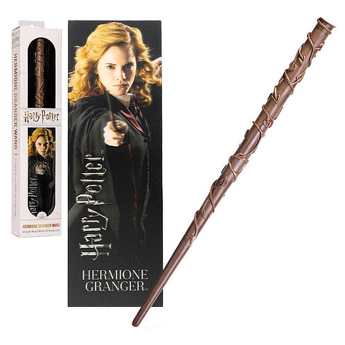 Harry Potter Hermione Granger wand with bookmark