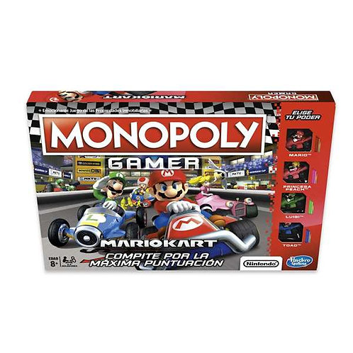 Board game Monopoly Mario Kart Hasbro (ES).