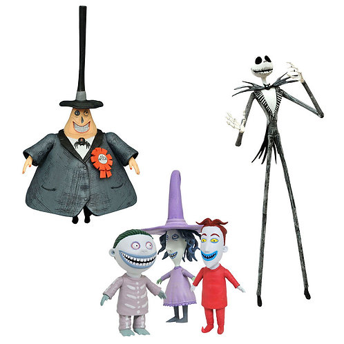 Wholesale-Disney Nightmare Before Christmas serie 1 assorted action figure