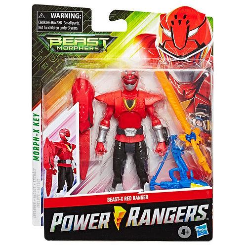 Power Rangers Beast Morphers Beast X Mode Red Ranger 15cm
