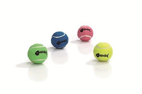 Beeztees Cat Toy Tennis Ball 4cm