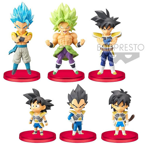 Wholesale-Dragon Ball Super Movie World Collectable assorted figure 7cm