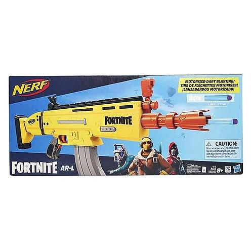 Dart Gun Nerf Fornite Ar-l Hasbro 6158E Yellow.