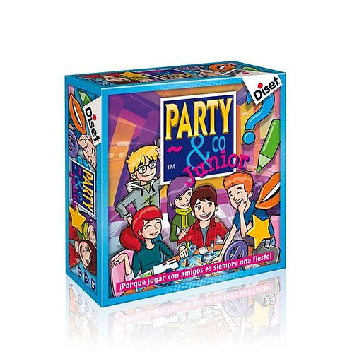 Board game Party & Co Junior Diset (ES).