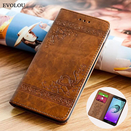 Flip Wallet Leather Case for Samsung Galaxy A7 2017 A5 A3