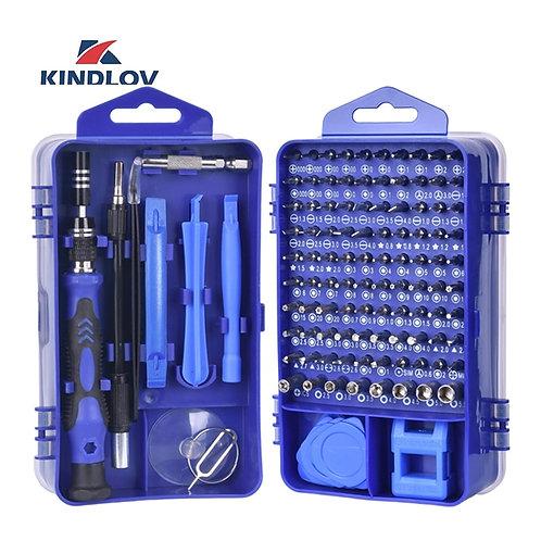 KINDLOV Phone Repair Tools Kit Screwdriver Set Precision 115 in 1