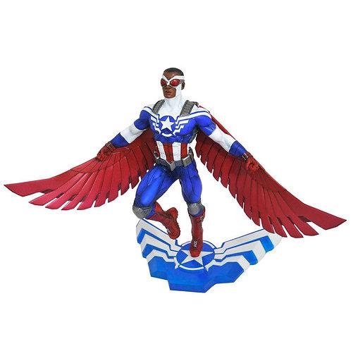 Marvel Captain America Sam Wilson diorama statue 25cm