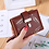 Thumbnail: Women Wallet PU Leather Purse Female Long Wallet Gollow Leaves Pouch Handbag