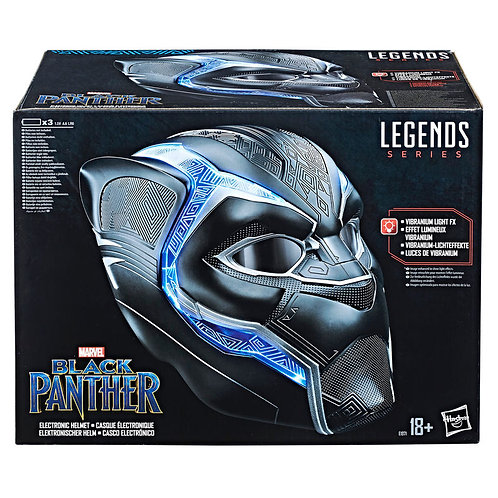 Marvel Legends Black Panther electronic helmet