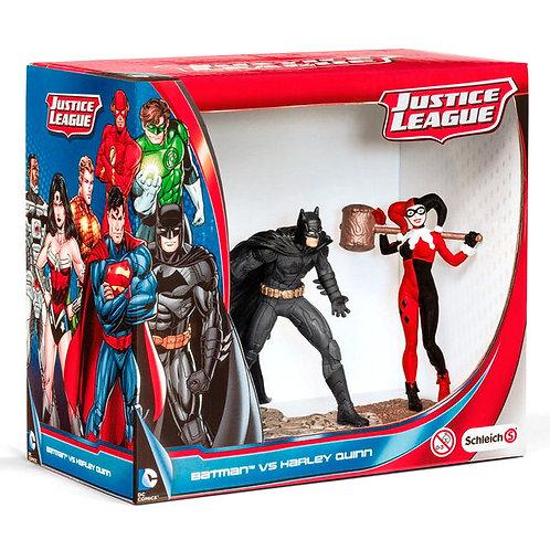 Wholesale-DC Comics Justice League Batman vs Harley Quinn figures