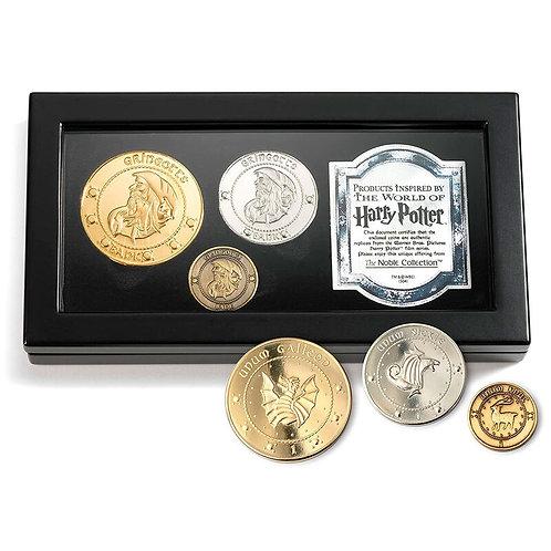 Harry Potter Gringotts coin set