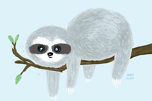 5x7 Sloth
