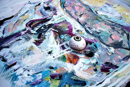 Custom Mixed Media on Canvas 20x20