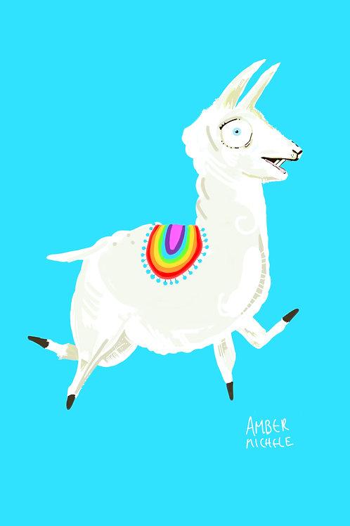 8x10 Llama