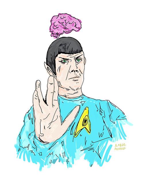 8x10 Spock