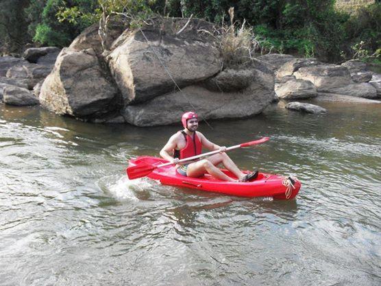 Canoagem no Ilha Parque de Aventuras
