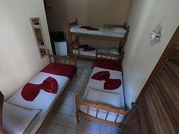 Apartamento quadruplo solteiro Pousada O