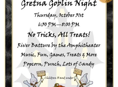 20th Annual Gretna Goblin Night!