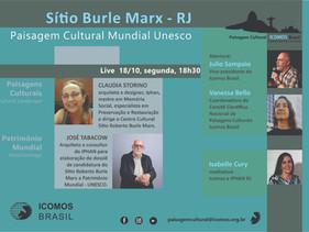 Live: Sitio Burle Marx - RJ - Paisagem Cultural Mundial Unesco